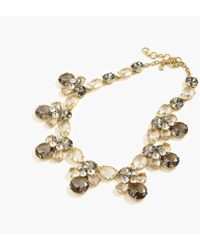 J.Crew - Crystal Bumblebee Statement Necklace - Lyst