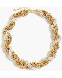 J.Crew - Twisty Beaded Necklace - Lyst