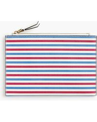 J.Crew - Medium Striped Pouch - Lyst