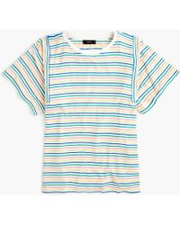 J.Crew - Mixed Stripe T-shirt - Lyst