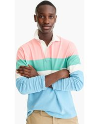 544297b3646 J.Crew Unisex 1984 Rugby Shirt In Double Stripe in Blue for Men - Lyst