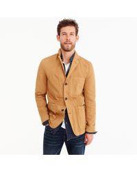 J.Crew - Wallace & Barnes Garment-dyed Chore Blazer - Lyst