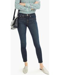 50a9d6b586e55 Lyst - J.Crew Tall Stretch Maternity Toothpick Jean In Chalk in White