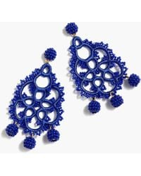 J.Crew - Bead And Embroidery Earrings - Lyst