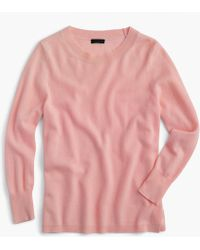 J.Crew - Everyday Cashmere Crewneck Sweater - Lyst