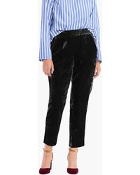 J.Crew - Pull-on Easy Pant In Velvet - Lyst