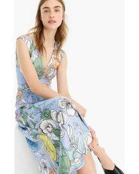 J.Crew - Pastel Floral Maxi Dress - Lyst