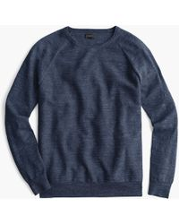J.Crew - Rugged Cotton Jumper - Lyst