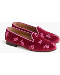 Stubbs & Wootton - Swarm Garnet Loafers - Lyst