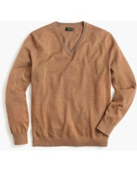 J.Crew - Tall Merino Wool V-neck Sweater - Lyst