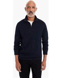 J.Crew - Double-knit Half-zip Pullover - Lyst