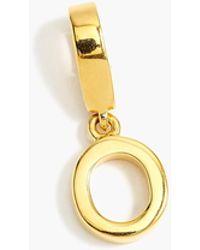 J.Crew - Demi-fine 14k Gold-plated Letter Charm - Lyst