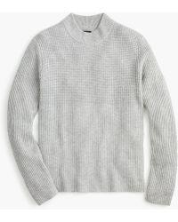 J.Crew - Everyday Cashmere Mockneck Sweater - Lyst