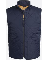 b4167fd928f9 Lyst - J.Crew Boys  Sussex Quilted Jacket in Blue for Men