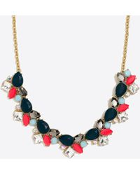 J.Crew - Colorful Stone Statement Necklace - Lyst