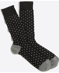 J.Crew - Microspot Socks - Lyst