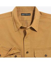 J.Crew - Slim-fit Cotton Workshirt - Lyst