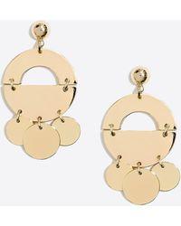 J.Crew - Golden Mobile Drop Earrings - Lyst
