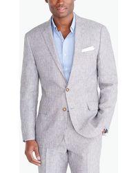 J.Crew - Thompson Suit Jacket In Linen - Lyst