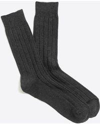 J.Crew - Basic Crew Socks - Lyst