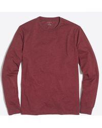 J.Crew - J. Crew Mercantile Heathered Long-sleeve T-shirt - Lyst