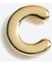 J.Crew - Single Letter Stud Earring - Lyst