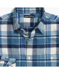 J.Crew - Slim-fit Flannel Shirt In Plaid - Lyst