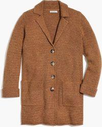 J.Crew - Donegal Sweater-coat - Lyst