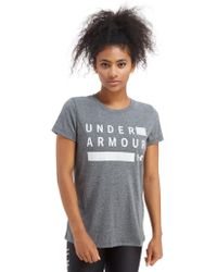 Under Armour - Threadborne Twist T-shirt - Lyst
