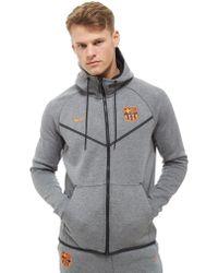 Nike - Fc Barcelona Tech Hoodie - Lyst
