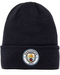 47 Brand - Manchester City Fc Cuffed Beanie Hat - Lyst