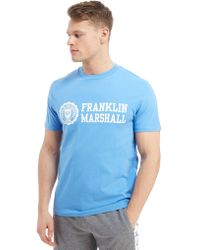 Franklin & Marshall - Central Brand T-shirt - Lyst