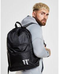 11 Degrees - Diagonal Zip Backpack - Lyst