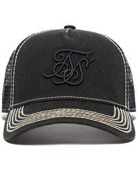 db194e744d0 Lyst - Siksilk Trucker Cap in Black for Men