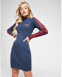 79b46d021c21e Ellesse - Anne Marie Ribbed Zip Dress - Lyst
