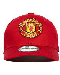 KTZ - 9forty Manchester United Adjustable Cap - Lyst