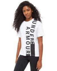 Under Armour - Short Sleeve Graphic T-shirt - Lyst