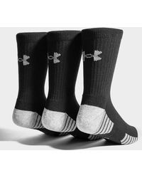 Under Armour - 3 Pack Heatgear Tech Crew Socks - Lyst