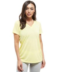 Under Armour - Threadborne V-neck Short Sleeve T-shirt - Lyst