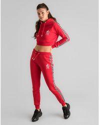 Hot Gym King - Tape Fleece Track Pants - Lyst c2ca8eea3
