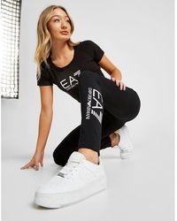 EA7 - Tape Leggings - Lyst