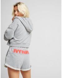 Ivy Park - Chenille Logo Shorts - Lyst
