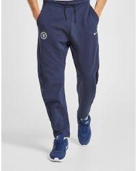 Nike - Pantalon de survêtement Chelsea FC Tech Homme - Lyst
