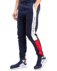 Tommy Hilfiger - Flag Side Leg Trousers - Lyst