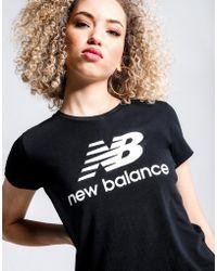New Balance - Essential Logo Tee - Lyst