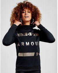 Under Armour - Graphic Metallic Hoodie - Lyst