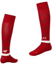 New Balance - Liverpool Fc 2018 Home Socks - Lyst