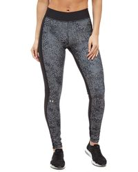 Under Armour - Heatgear Print Leggings - Lyst