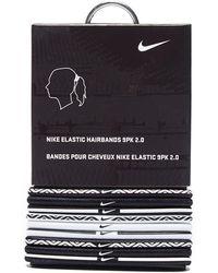 Nike - 9 Pack Elastic Hairbands - Lyst