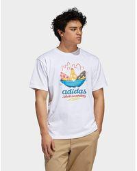 e65f6bdc1 adidas Originals Id96 Long Sleeve T-shirt for Men - Lyst